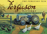 Ferguson TE20 - Heritage Tin Sign by Trevor Mitchell