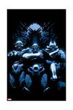 Avengers 18 Cover: Skrulls Konst av Leinil Francis Yu