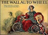 The Wall Auto-Wheel Blechschild