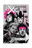 Astonishing X-Men 66 Cover: Jubilee, Warbird, Karma, Reyes, Cecilia Posters by Amilcar Pinna