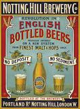 Notting Hill Brewery Blikskilt