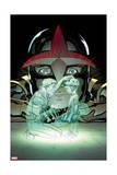 Nova 5 Cover: Nova, Alexander, Sam, Alexander, Jesse Posters by Ed McGuinness