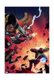 What If Avx 4 Cover: Wolverine, Iron Man, Thor, Hulk, Cyclops, Black Widow, Hawkeye, Magneto Poster by Jorge Molina