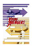 Young Avengers 4 Cover: Bishop, Kate, Marvel Boy Posters by Jamie McKelvie