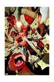 Deadpool Kills Deadpool 3 Cover: Deadpool Poster by Mike Del Mundo