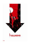 Hawkeye 6 Cover: Hawkeye Posters by David Aja