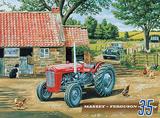 Massey 35 Cartel de chapa por Trevor Mitchell