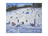 Large Snowman, Chatsworth, 2012 Giclee Print by Andrew Macara
