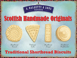 Scottish Shortbread Tin Sign