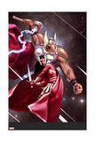 Journey into Mystery 652 Cover: Beta-Ray Bill, Sif Posters by Jeff Dekal