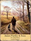 James Purdey & Sons Blechschild von Kevin Walsh