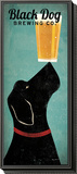 Black Dog Brewing Co. Framed Print Mount by Ryan Fowler