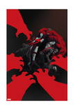 Thunderbolts 15 Cover: Elektra, Red Hulk, Deadpool, Punisher, Venom Prints by Julian Totino Tedesco