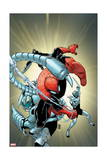 Superior Spider-Man 12 Cover: Spider-Man, Scorpion, Boomerang Prints by Giuseppe Camuncoli