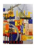 Building for the Future Giclee Print by Margaret Coxall