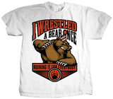 Iwrestledabearonce - Party Mascot T-shirts