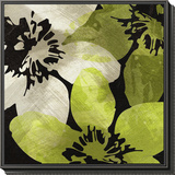 Bloomer Tile V Framed Print Mount by James Burghardt