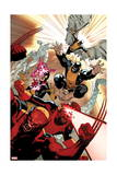 All-New X-Men 10 Cover: Wolverine, Cyclops, Grey, Jean, Beast, Iceman, Angel Prints by Stuart Immonen