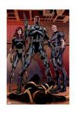 Secret Avengers 14 Group: Black Window, Nick Fury, Hawkeye Prints by Butch Guice