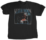 Keith Moon - Drums T-shirts by Jim Marshall