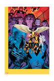 X-Men: Battle of the Atom 1 Cover: Jean, Iceman, Beast, Angel, Wolverine, Storm, Hayes, Molly Poster por Arthur Adams
