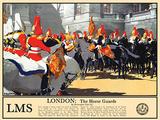 London Horseguards Blechschild