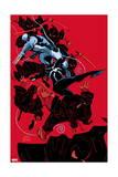 Scarlet Spider 19 Cover: Scarlet Spider, Wolverine Poster by Ryan Stegman