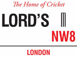 Lords Tin Sign
