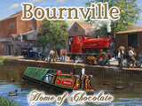 Bourneville Tin Sign by Kevin Walsh