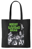 Night of the Living Dead - Movie Poster Tote Bag Borsa shopping
