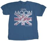 Keith Moon - Union Jack T-Shirts von Jim Marshall