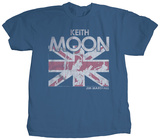 Keith Moon - Union Jack T-shirts by Jim Marshall