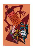 The Superior Foes of Spider-Man 1 Cover: Shocker, Beetle, Boomerang, Overdrive, Speed Demon Print by Marcos Martin