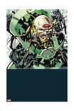 Secret Avengers 13 Cover: M.O.D.O.K, Black Widow, Nick Fury, Hawkeye Poster by Butch Guice