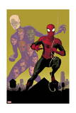 Avenging Spider-Man 21 Cover: Chameleon, Spider-Man Prints by Paolo Rivera
