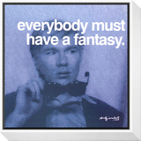 Fantasy Framed Print Mount by Andy Warhol