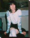 Chrissie Hynde Stretched Canvas Print