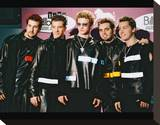 N'Sync Stretched Canvas Print