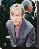 Ellen Degeneres Stretched Canvas Print
