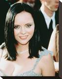 Christina Ricci Stretched Canvas Print