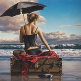 On the Edge of the World Print by Paul Kelley