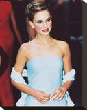 Natalie Portman Stretched Canvas Print