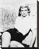 Dorothy Malone Stretched Canvas Print