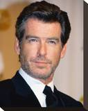 Pierce Brosnan Stretched Canvas Print