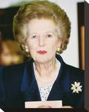 Margaret Thatcher Stretched Canvas Print