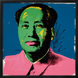 Mao, 1972 Framed Giclee Print by Andy Warhol