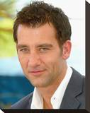 Clive Owen Stretched Canvas Print