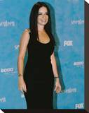 Holly Marie Combs Stretched Canvas Print