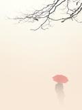 In Autumn Fog Poster von Nicholas Bell