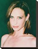 Claire Forlani Stretched Canvas Print
